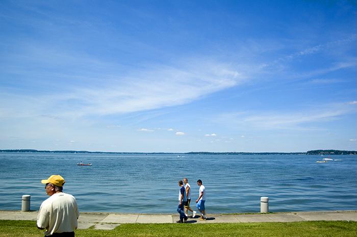 the great lake of michigan